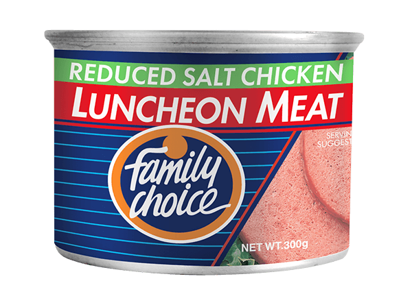 Family Choice Reduced Salt Chicken Luncheon Meat