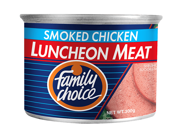 Family Choice Smoked Chicken Luncheon Meat