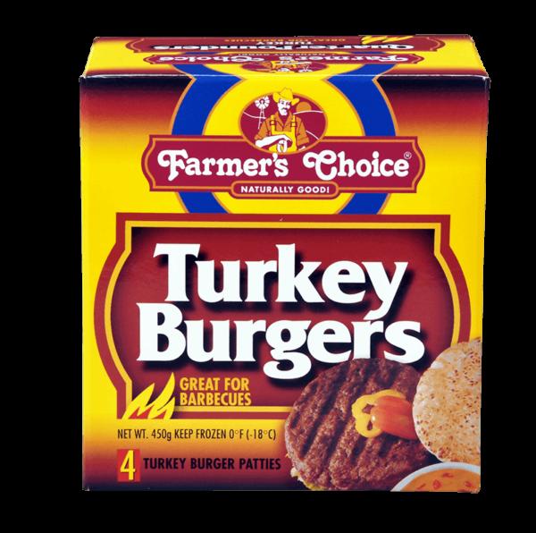 Farmer's Choice Turkey Burgers